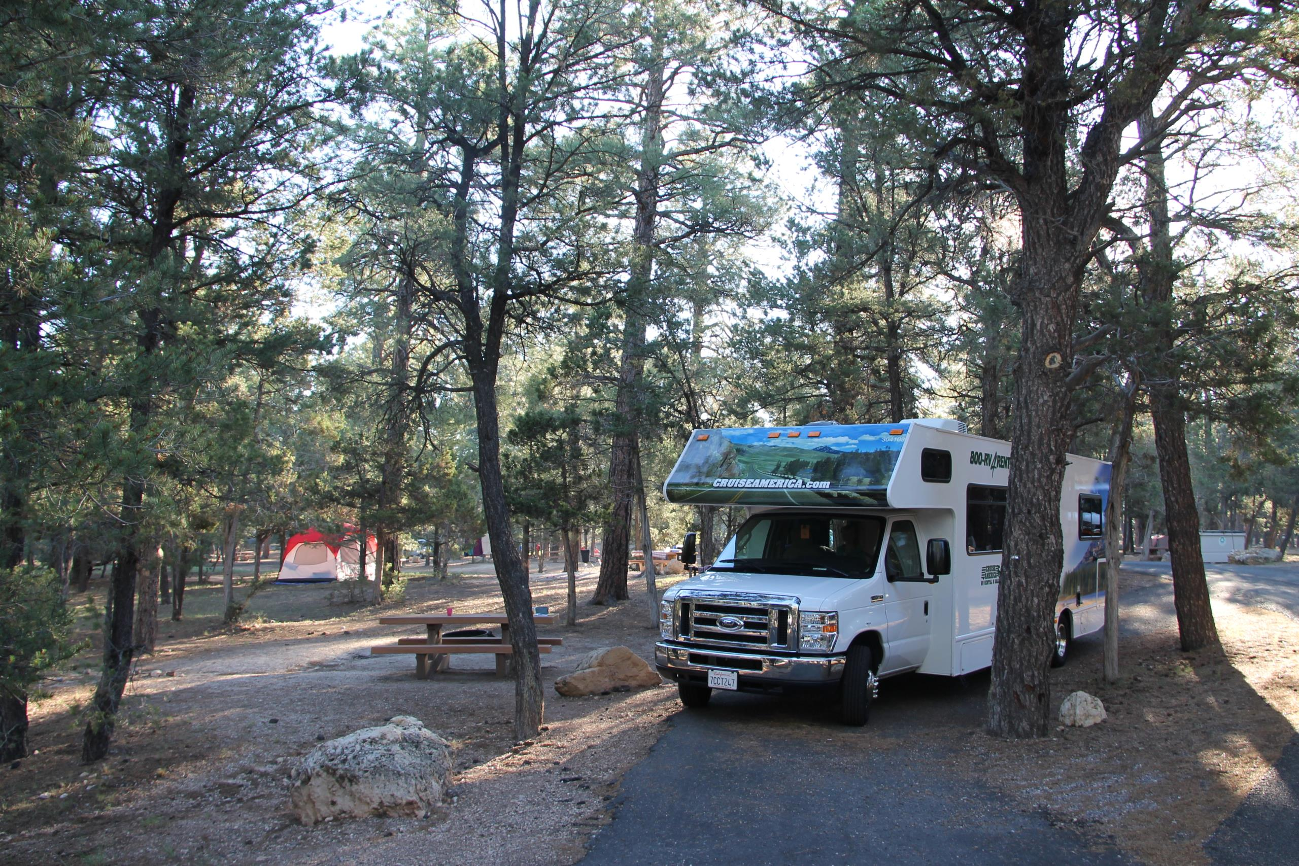 Travelhome Campervakanties Mather Campground
