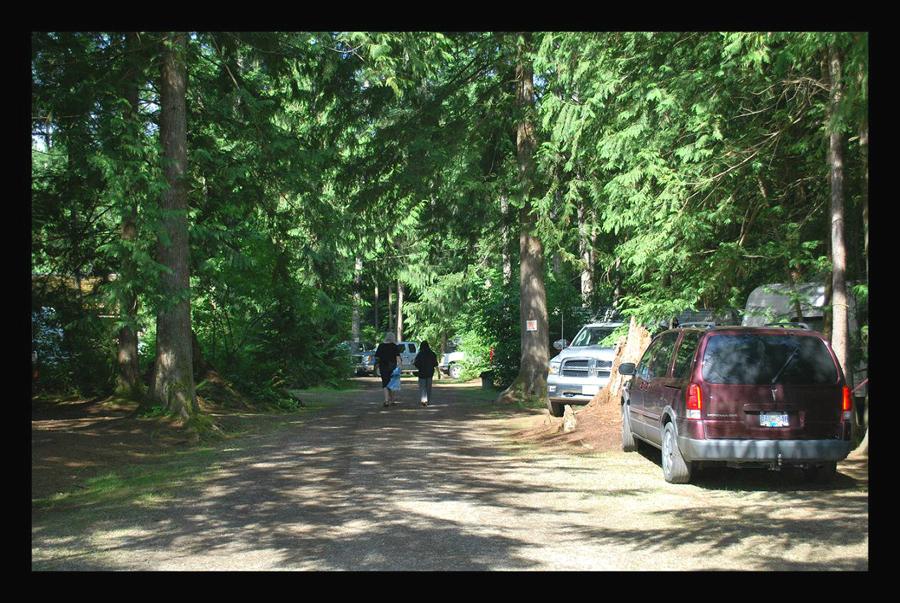 Volledige aansluiting campings Vancouver Island