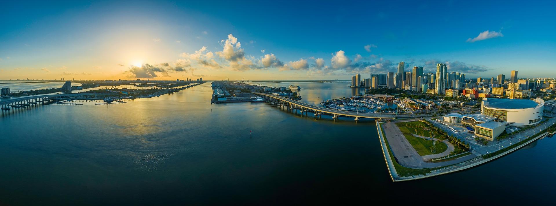 aansluiting app Miami