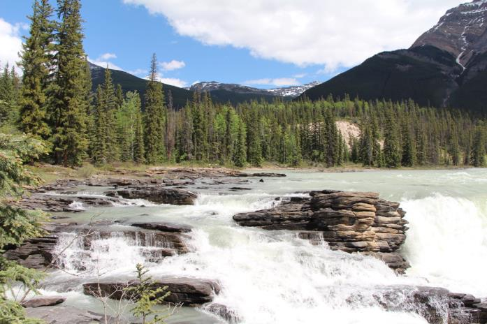 Travelhome Campervakanties waterval Canada