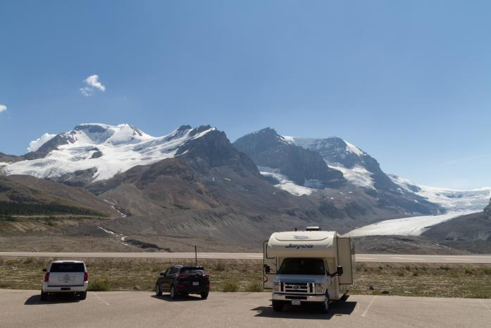 Travelhome Campervakanties Athabasca Glacier