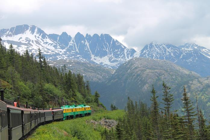 Travelhome | Trein in Alaska
